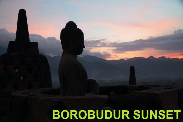 NICE BOROBUDUR SUNSET TOUR